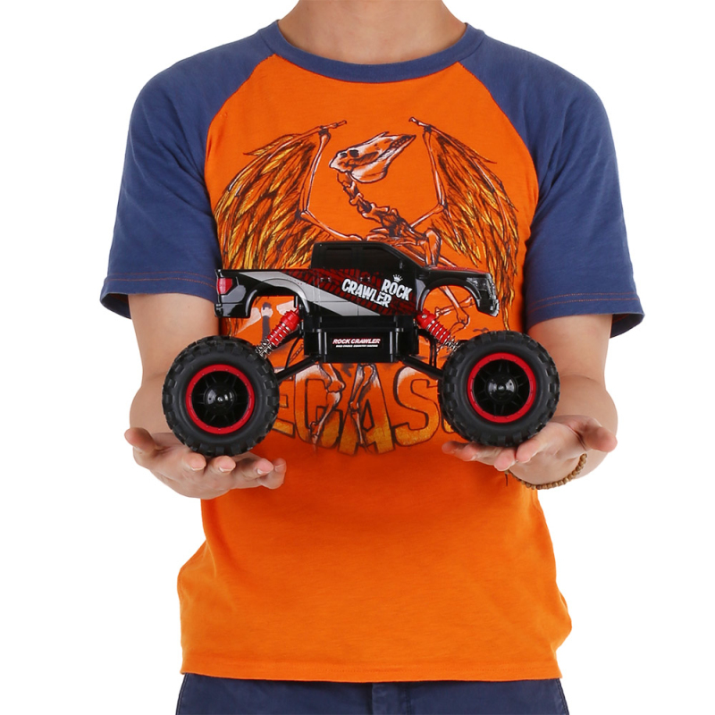 Remote control Rock Crawler truck P1404 2 4G 1 14 Scale 4WD anticollision middle bigfoot Powerful