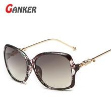 2016 New Women Sunglasses Pilot Shield Gold Color Alloy Legs High Quality Anti-Reflective UV400 Sun Glasses Fashion Eyewear