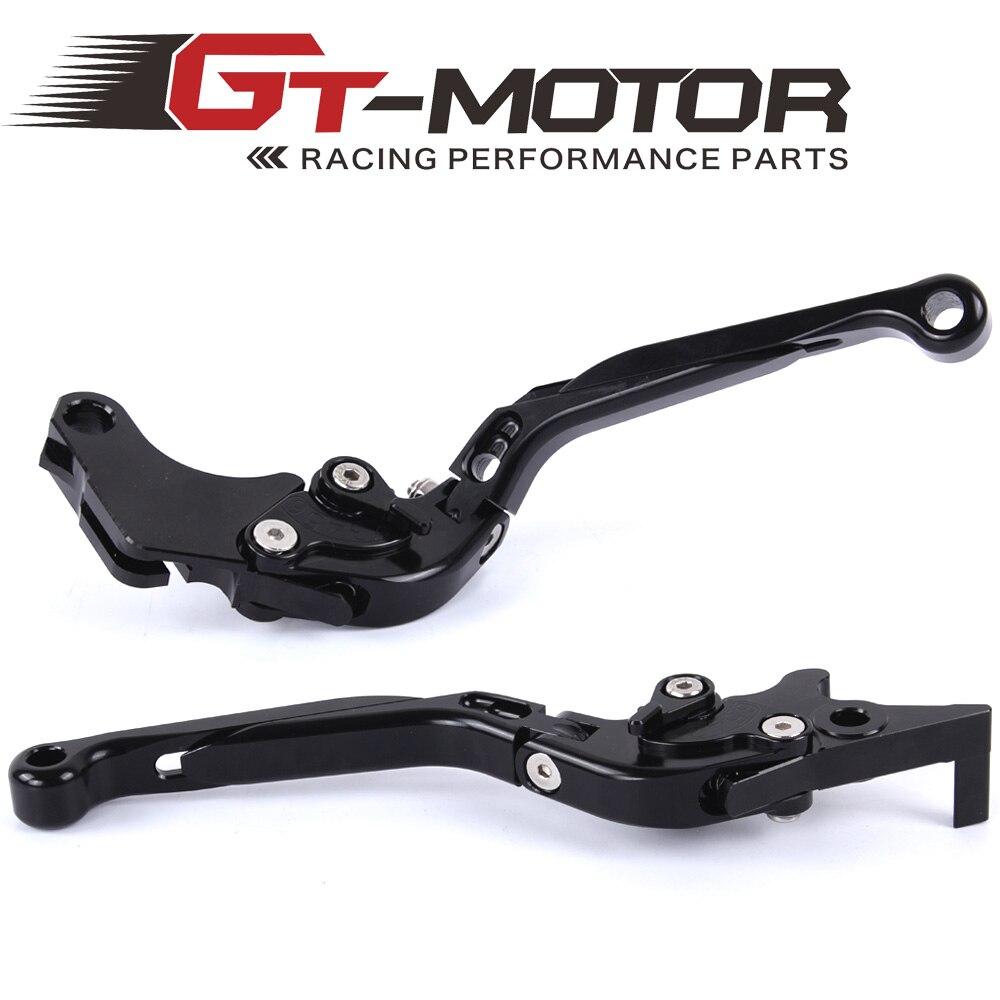 GT Motor - F-25 H-250 Adjustable CNC 3D Extendable Folding Brake Clutch Levers For HONDA GROM 6 CBR300 CBR250R  CBR500R/CB500F/X billet new alu long folding adjustable brake clutch levers for honda cbr250r cbr 250 r 11 13 cbr300r 14 cbr500r cb500f x 13 14