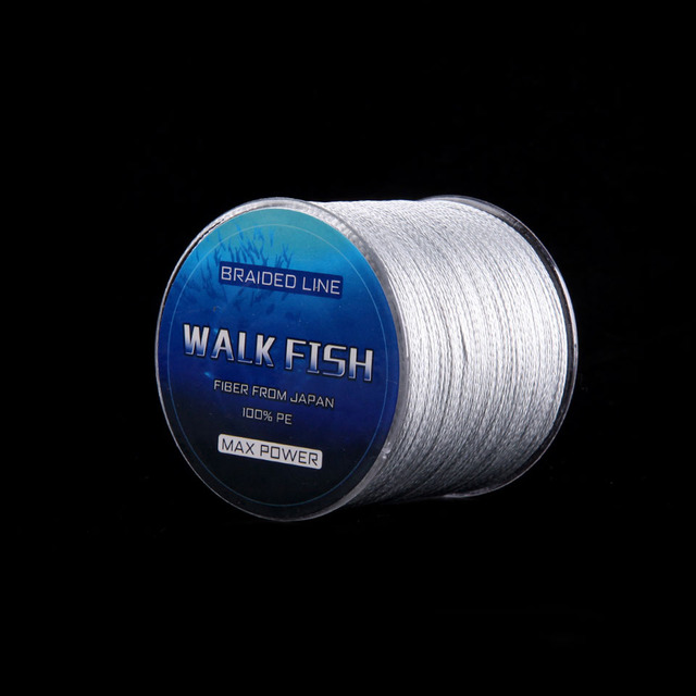 Special Price WALK FISH 300M 8 Strand Weaves Fishing Lines PE Braided Multifilament Fishing Rope Wide Angle Braided Technology 22-78LB