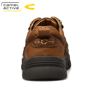 Image 5 - Camel Active New Mens Genuine Leather Oxfords Spring Autumn Waterproof Moccasins Lace Up Men Casual Shoes Outdoors Man Shoes