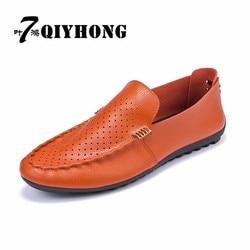 4d7308583a QIYHONG (7 Ye Hong) O Novo Quente de Alta Qualidade PU Moda Pedal Sapatos