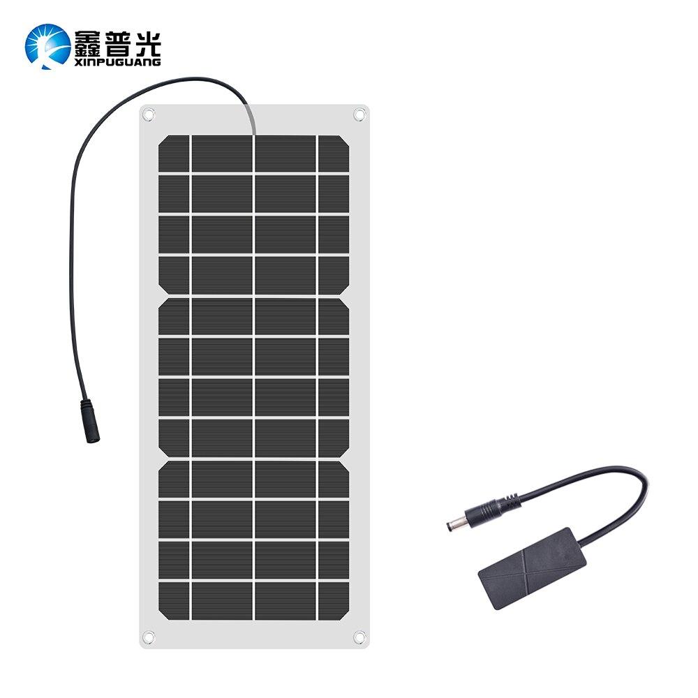 Carregador de Sol Bank para o Telefone ao ar Livre de Carregamento w à Prova Xinpugaung Flexível Painel Solar Dwaterproof Água Portátil 5 v 1.6a Saída Usb Power 10