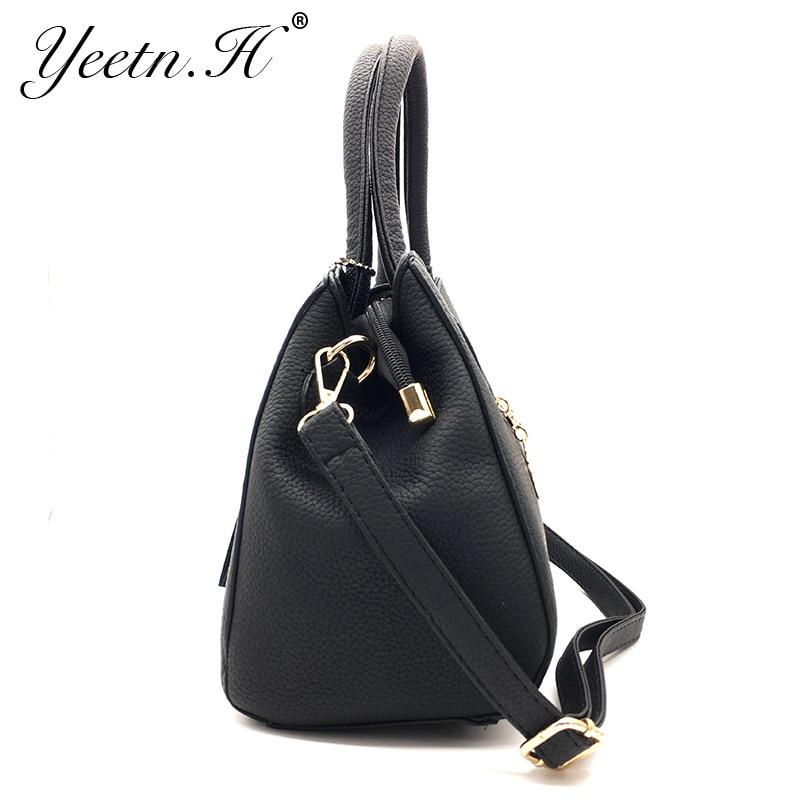 Yeetn.H New Arrival Woman Bag Fashion Handbag Shoulder Bag Classic PU - Beg tangan - Foto 3