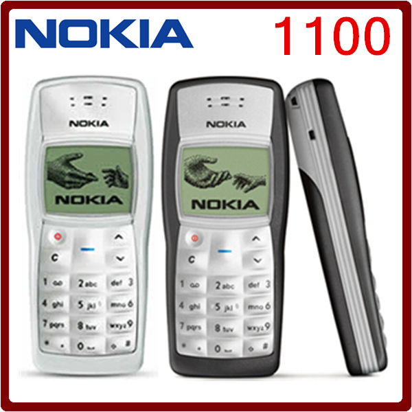 1100 cheapest original unlocked nokia 1100 multi color. Black Bedroom Furniture Sets. Home Design Ideas