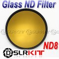 77 Optical Glass ND Filter TIANYA 77mm Neutral Density ND8