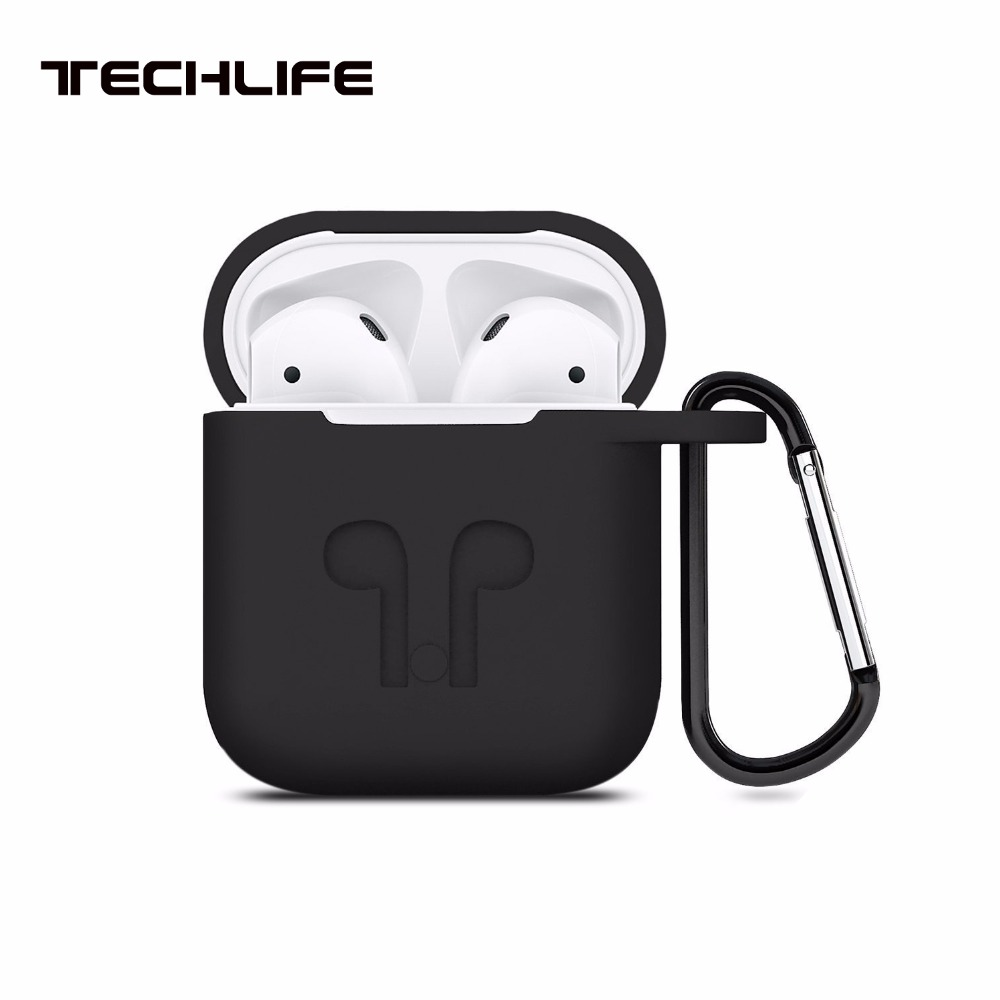 Duszake Protective Silicone Cover Case for AirPods Case Case for Apple Headphone for Airpod Case Charger Accessories