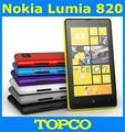 "Nokia Lumia 820 Windows Phone 8 Dual Core Smartphone abierto con GPS WIFI 4.5 "" 8MP teléfono móvil dropshipping"