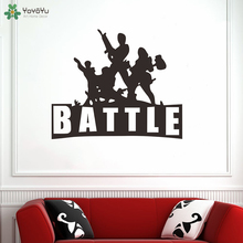 YOYOYU Wall Decal Battle Stickers Game Room  Boys Waterproof Poster Vinyl Art Home Decoration Sofa QQ216