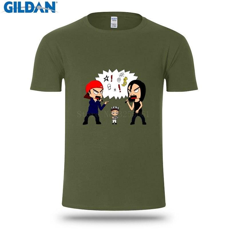 63f5229ae Design Short Sleeve Tshirt Limp Bizkit Vs Korn Summer T Shirt For Men  Fashions Casual T Shirt Men Funny Hip Hop-in T-Shirts from Men's Clothing on  ...
