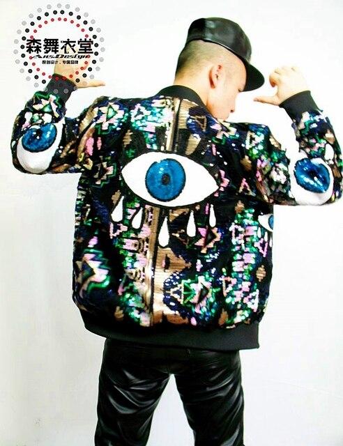 2016 Personality New Nightclub Male singer Fashion Egypt Eyes ...