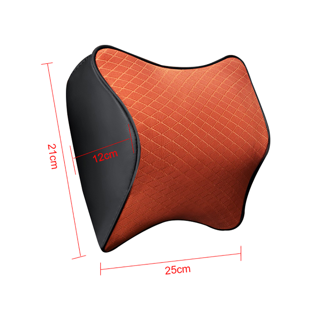 Space Memory Foam Car Lumbar Support Auto Neck Pillow Headrest Head Comfortable Restraint in Neck Pillow from Automobiles Motorcycles