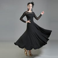 New Design Modern Ballroom Dance Dress For Ballroom Dancing Waltz Tango Spanish Flamenco Dress Standard Ballroom Dress Swing