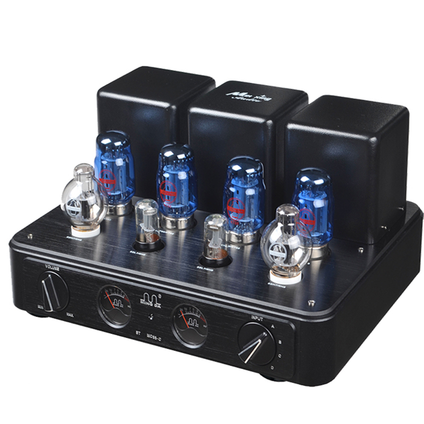 Meixing mingda MC88-C HIFI Vacuum Tube integrated Amplifier Push-pull amp KT88 * 4 6SN7 (Special) * 2; 6N9 * 2 power: 50W * 2 music hall hifi power integrated tube amplifier ge5670 pcm2706 pga232 usb 2 70w tube preamp with remote control