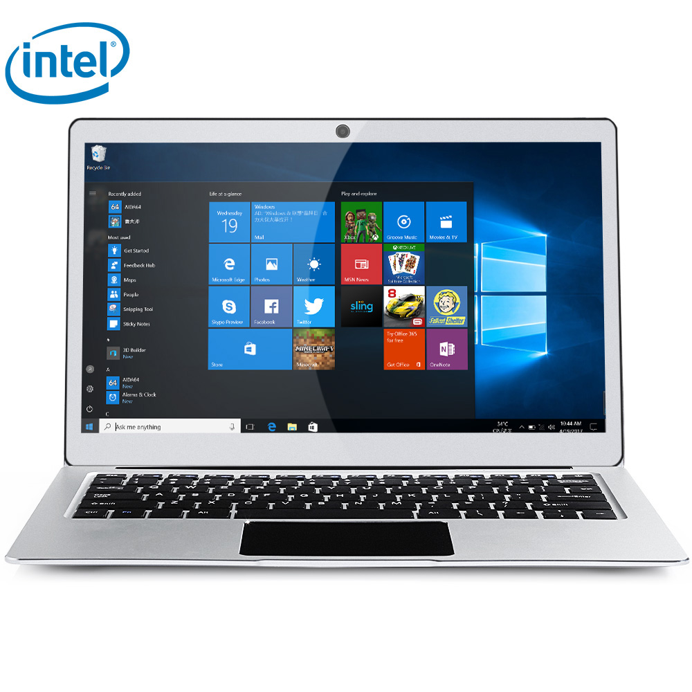 Jumper EZBOOK 3 PRO 13.3 inch Notebook Windows 10 Home Intel Apollo Lake N3450 Quad Core 1.1GHz 6GB RAM 64GB eMMC HDMI Dual WiFi [hk stock] blackview p6000 6gb 64gb dual back cameras face