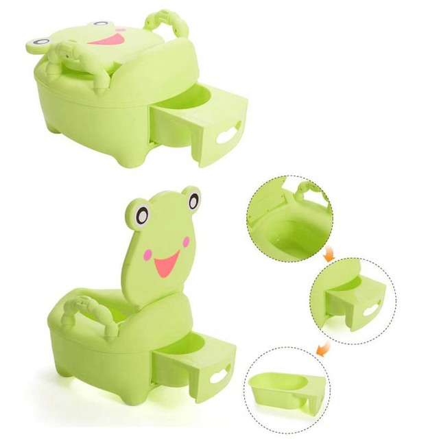 Frog Potty Chair Cream Accent Chairs For Living Room New Baby Potties Children Travel Design Portable Kids Toilet Essential Outdoor Squat Car Trainers
