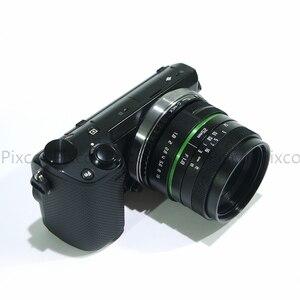 Image 4 - Venes 25mm f/1.8 APS C עדשה + עדשת הוד + מאקרו טבעת + 16mm C הר מתאם מתאים עבור מגוון רחב של מצלמות עבור Panasonic