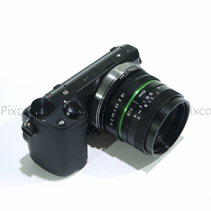 Image 4 - Venes 25mm f/1.8 APS C Lens+Lens Hood+Macro Ring+16mm C Mount adapter Suitable for a variety of cameras For Panasonic