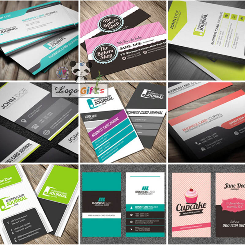 Free design custom business cards printing with your name and 500 colourmoves