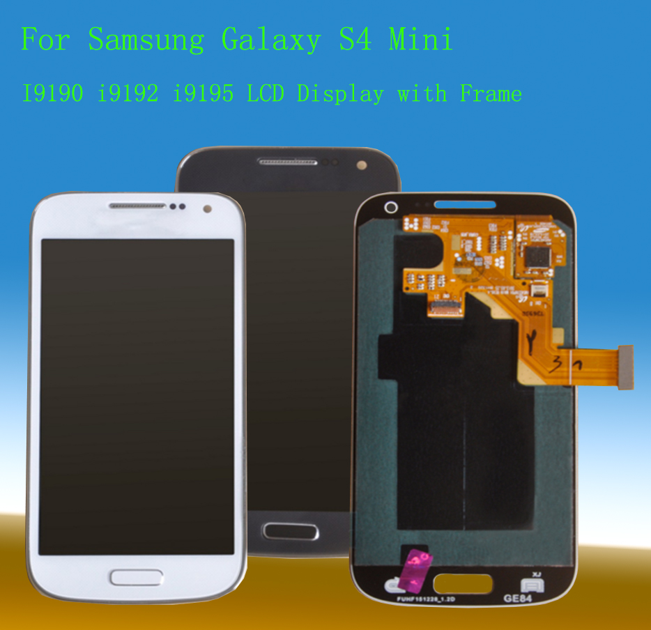 STARDE 4.3'' <font><b>LCD</b></font> For <font><b>Samsung</b></font> <font><b>Galaxy</b></font> <font><b>S4</b></font> <font><b>Mini</b></font> <font><b>i9190</b></font> i9192 i9195 <font><b>LCD</b></font> Display Touch <font><b>Screen</b></font> Digitizer Assembly image