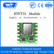 цена на WitMotion HWT31 High-Precision 3 Axis AHRS Tilt Angle Accelerometer Module,Triaxial Acceleration Digital Transducer,for Arduinos