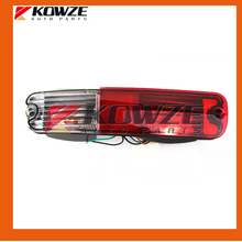 White and Red Tail Bumper Lamp Light Left & Right For Mitsubishi Pajero Montero 3 III 2003 MN133775 MN133776
