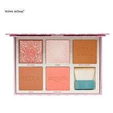 2019 nouveauté maquillage des yeux Bronze escouade Palette de joues \u0026  escouade rose Contour 5 couleur fard à paupières avec bros.