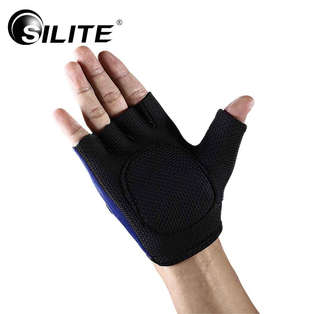 Neoprene Cycling Gloves Half Finger Anti Slip Gel Pad Breathable Motorcycle Mountain Road Bike Gloves Men Sports Bicycle Gloves
