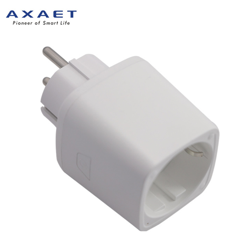 AXAET smart plug EU wifi power socket plug outlet smart Home Automation APP Control switch Audio Control APP for iphone Android