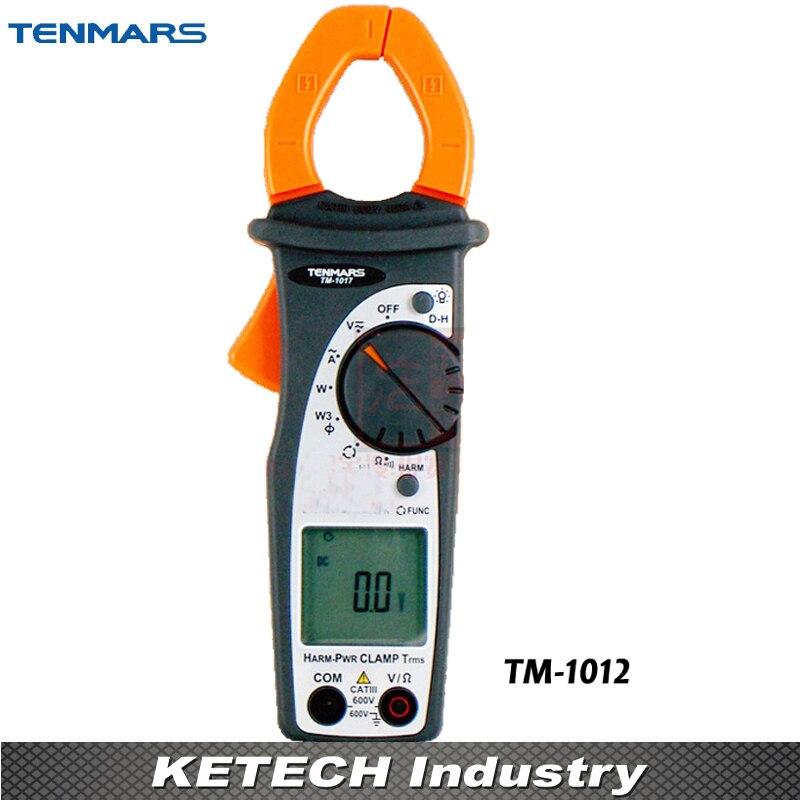 400A Autoranging AC Clamp-on Meter TENMARS TM-1012 tm 102 autoranging sound level meter