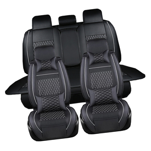 Image 3 - Leather Car seat covers set For Chevrolet CRUZE SAIL LOVE AVEO EPICA CAPTIVA Cobalt Malibu AVEO LACETTI Car Accessories styling