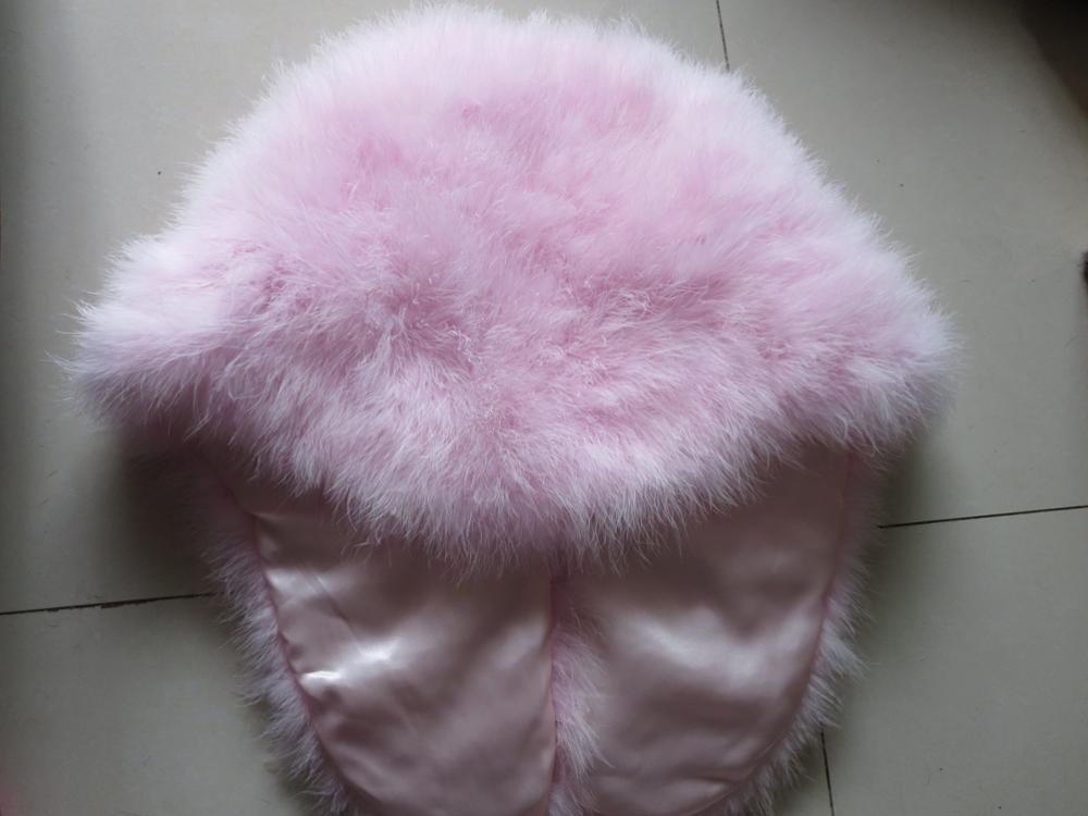 Wholesale/Retails Women's Real Ostrich Fur Cape/ Scarves/Coat Fashion Pink