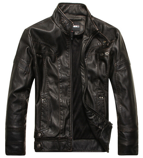 Aliexpress.com : Buy Motorcycle leather jackets men jaqueta de ...