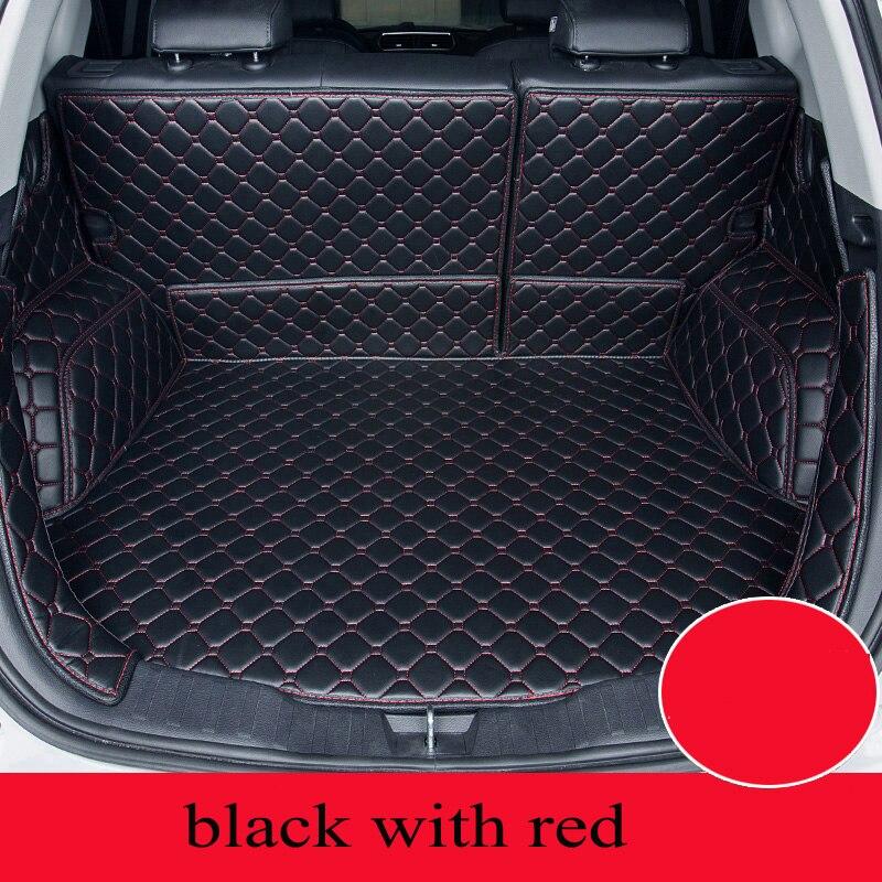 Personnalisé tapis de voiture tronc pour Mercedes Benz Tous Les Modèles ML GLK E GLA GLC ML SLK voiture style cargo personnalisé doublure