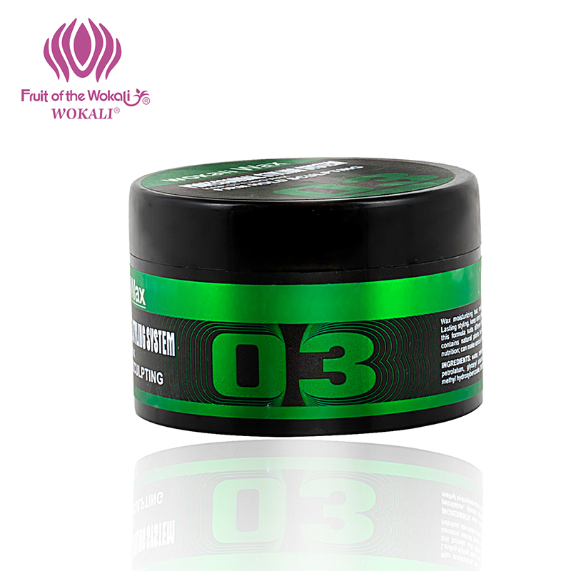 100g WOKALI Fashion ladies hair wax fluffy modeling Hair care Long lasting stereotype Hair gel