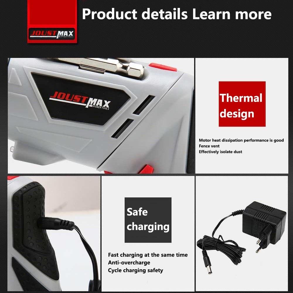 מזגנים רצפתיים 4.8V חשמלי מברג מיני מקדחה אלחוטי 45 ביטים אלחוטי Power עם אור LED Dremel DIY רב תפקוד בית כלים Power (4)