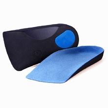 fromUfoot EVA Flat Foot Orthotics Arch Support Half Shoe Pad Orthopedic Insoles Foot Care for Men and Women
