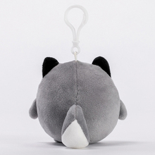 Husky Plush Keychain Toys For Children Bag Pendant Key Ring Handbag Stuffed Doll