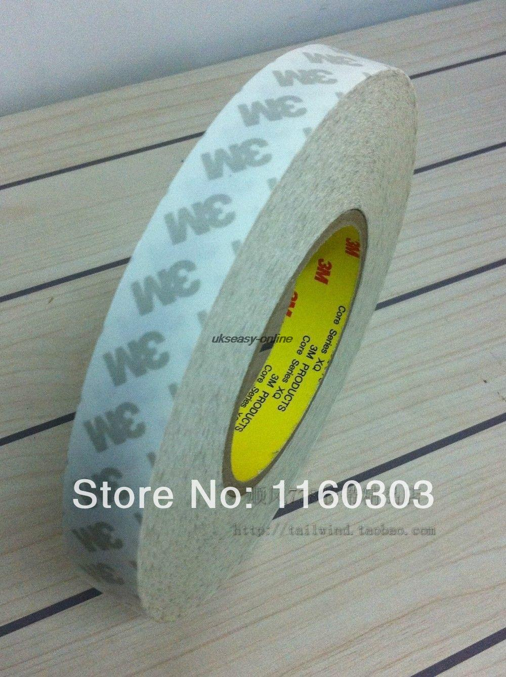 New 20mm Double Sided Tape 3M Adhesive Tape for Led strips, LCD screen,car light yitap 25 lot double side pet double sided adhesive tape for lcd screen double sided tape