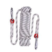 Rock Climbing Rope, 12mm Diameter Outdoor Hiking Accessories High Strength Cord Safety Rope