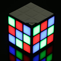 New Magic Rubik's Cube Portable LED RGB Light Deep Bass Bluetooth 4.0 Wireless Speakers with Microphone Hands-free TF Card Mode