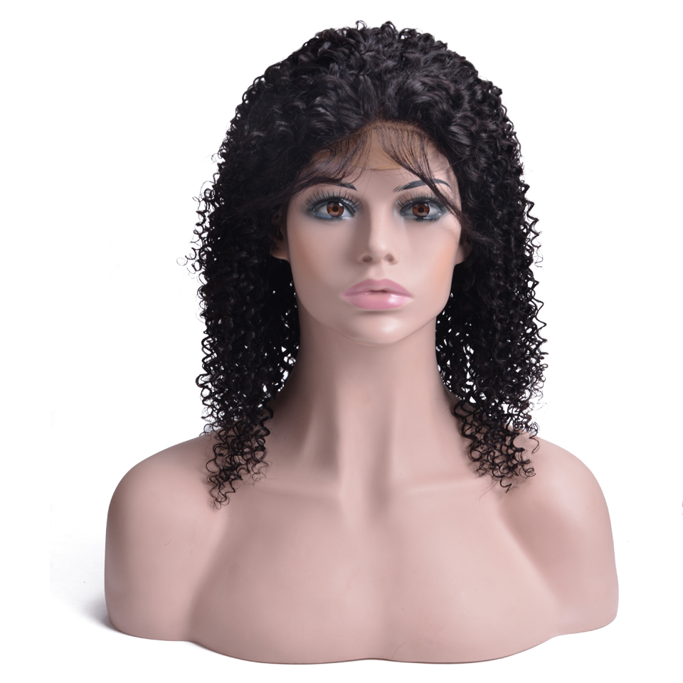Brazilian Curly Lace Closure Human Hair Wigs  4*4 Closure Wig Glueless 150% Density Human Hair Wigs For Black Women-in Human Hair Lace Wigs from Hair Extensions & Wigs    1