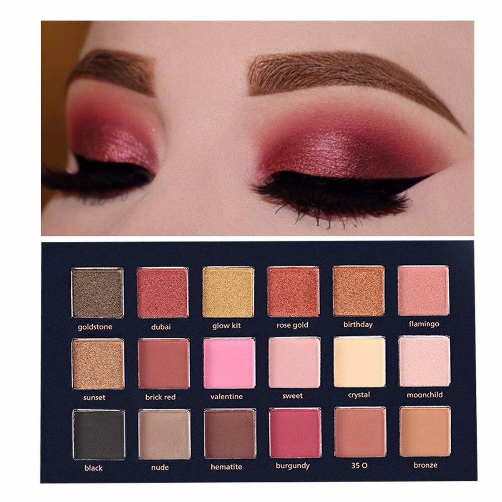 Beauty Glazed Shimmer Matte Eyeshadow Makeup Palette (14)