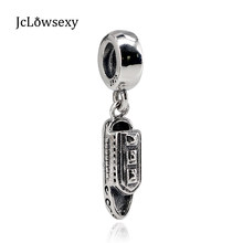 f7d22da01 Authentic 925 Sterling Silver Bead Cruise Ship Pendant Charm Fit Original Pandora  Bracelets DIY Charms Jewelry Marking