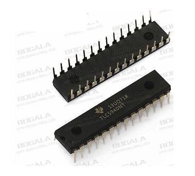 IC LED DRIVER PWM CONTROL 28-DIP TLC5940NT TLC5940 NEW GOOD QUALITY