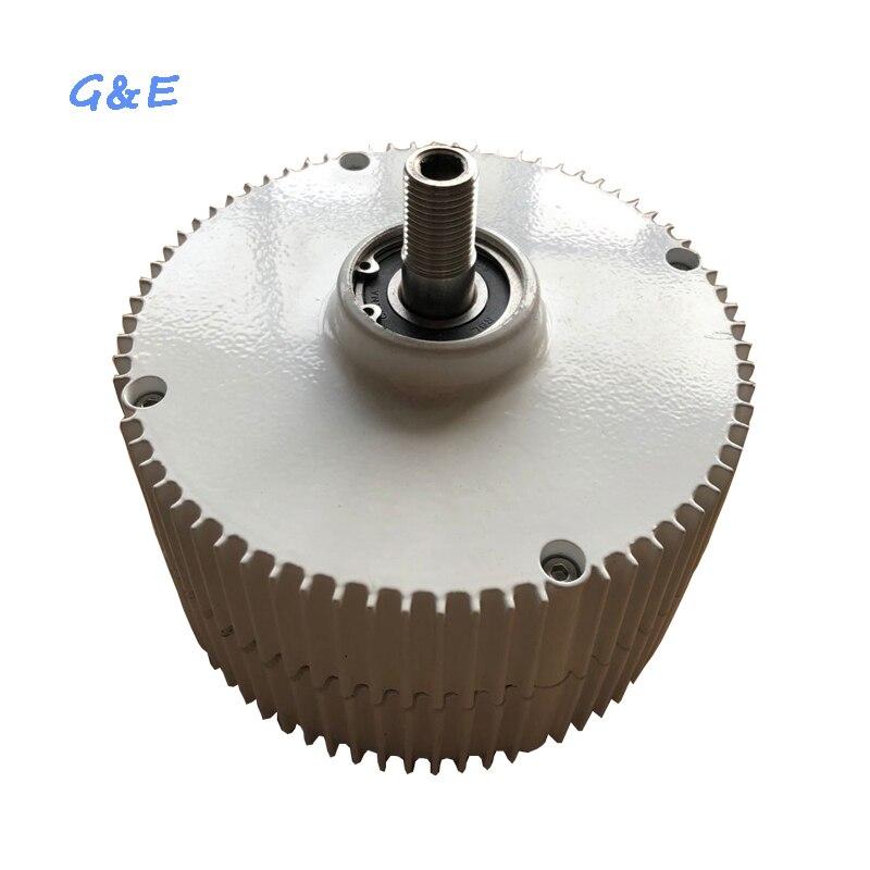 12 V 24 V 48 V 400 W en option DC PMA PM générateur à aimant Permanent avec contrôleur étanche pour éolienne
