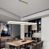 Led Lamp Chandelier Modern Acrylic Kitchen Lamparas De Techo Home Lighting For Dining Room AC85