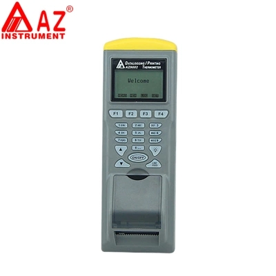 AZ9881 Digital Dual Input Thermocoupler Datalogger With Printer Function