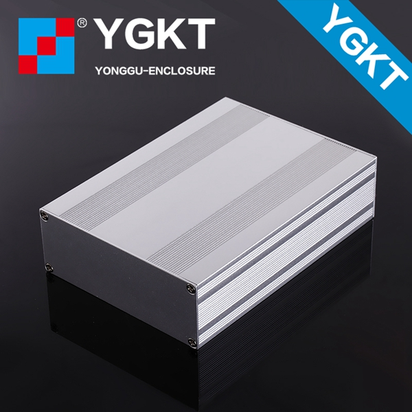 YGS-018   145*54-95mm WxH-L aluminium box electronics /case enclosures for electronics diy amplifier enclosure 1 piece free shipping small aluminium project box enclosures for electronics case housing 12 2x63mm