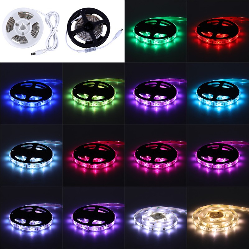LED Dual Mode Motion Night Light 1.5M Motion Sensor Flexible LED Strip Rope Light For Bedroom Cabinet Taillight new